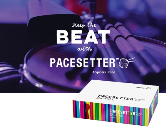Pacesetter Logo and Carton Box