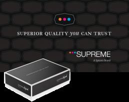 Supreme Logo and Carton Box