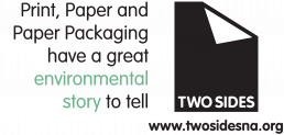 Two Sides Logo and Tagline